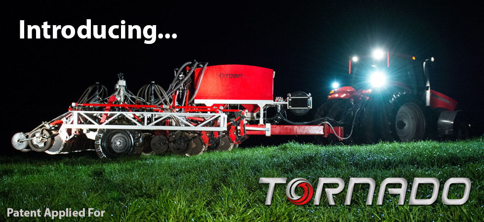Introducing the all new Tobin No-Till Tornado